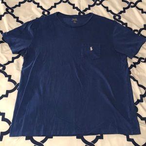 Polo Ralph Lauren Royal Blue Pocket T-Shirt